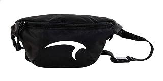 Mintra Polyester Contrast Front Logo Print Zip-up Unisex Waist Bag