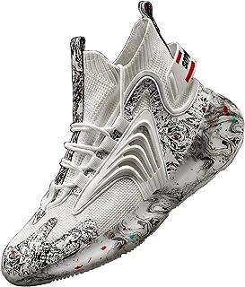 ADFD Cómodas zapatillas de correr de alta parte superior para hombre, zapatos deportivos de estilo chino, adecuadas para t...