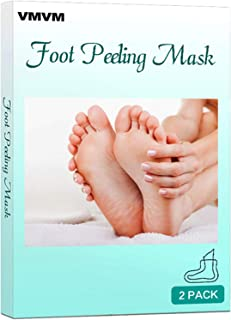 VMVM Feet Exfoliant Foot Peel 2 Pack, Make Your Feet Like Baby, Peeling Away Calluses and Dead Skin cells, Exfoliating Foot Mask, Repair Rough Heels, Get Silky Soft Feet