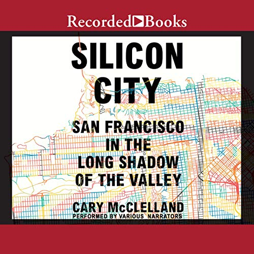 Silicon City audiobook cover art