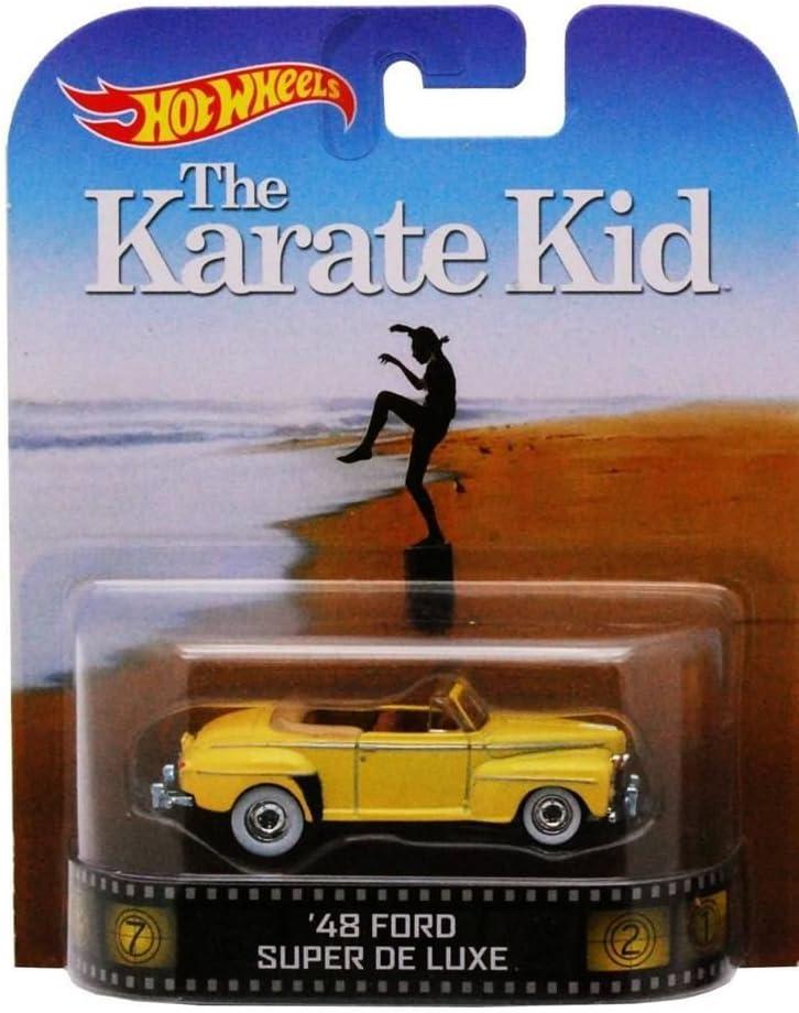 Hot Wheels '48 Ford Super De Luxe Seri 2014 Retro Karate Kid Nippon regular agency Bombing free shipping The