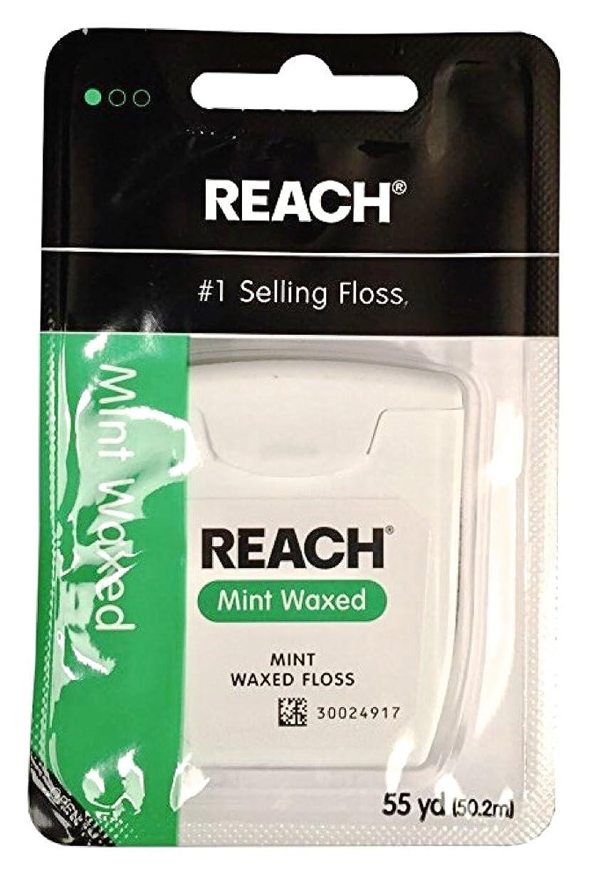 錆び胴体クラックREACH Mint Waxed Floss 55 yds 6 pack (50.2 m) [並行輸入品]