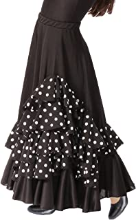 204ad3ed7 Amazon.es: falda flamenco negra nina