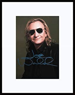 Framed Joe Walsh Autograph with Certificate of Authenticity