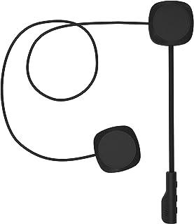 3T6B Bluetooth 5.0 Auriculares de Cascos de Motocicleta, inalámbrica Manos Libres Moto Casco Auricular, Altavoces música, ...