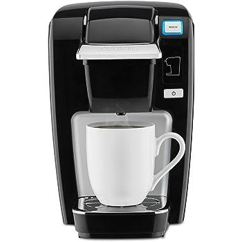Keurig K15 Coffee Maker, Single Serve K-Cup Pod Coffee Brewer, 6 to 10 Oz. Brew Sizes, Black