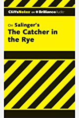CliffsNotes on Salinger's The Catcher in the Rye: Library Edition MP3 CD