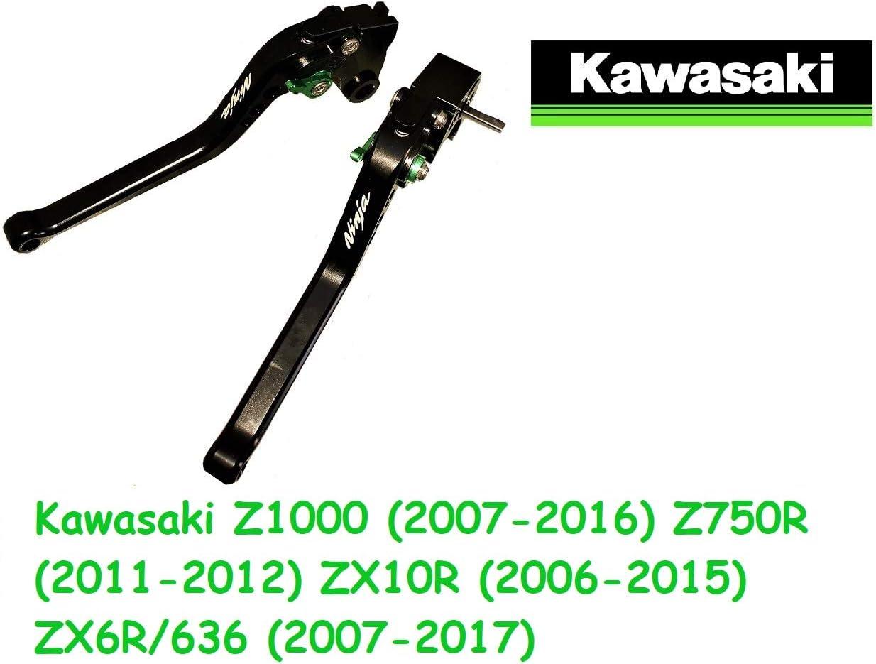 Motorrad Kupplung Brembeshebel Verstellbar Für Kawasaki Z1000 2007 2016 Z750r 2011 2012 Zx10r 2006 2015 Zx6r 636 2007 2017 Lange Auto