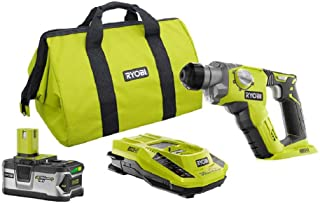 Ryobi P1968N 18-Volt ONE+ 1/2 in.1/2 in. Rotary Hammer Drill Kit