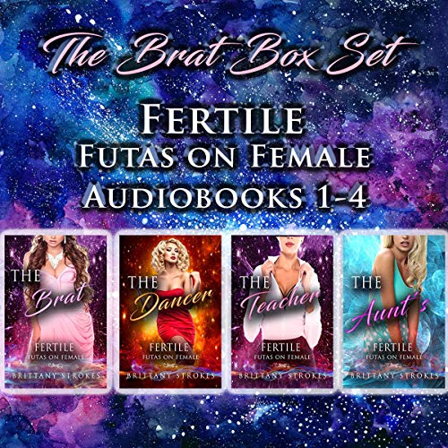 The Brat Box Set: Fertile Futas on Female audiobook cover art