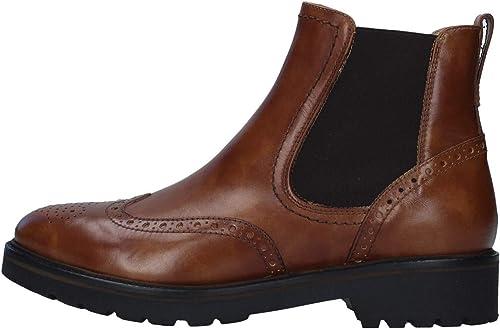 Nero giardini scarponcini modello beatles donna pelle I013123D