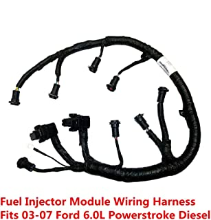 FICM Engine Fuel Injector Complete Wire Harness - Replaces Part# 5C3Z9D930A - Fits Ford Powerstroke 6.0L Diesel - 2003, 2004, 2005, 2006, 2007 F250 F350 F450 F550 2004-2005 Ford Excursion