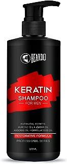 Beardo Keratin Shampoo for Hair Growth & Damage Control - 300 ml