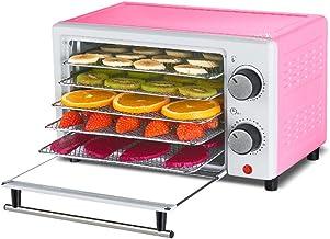 Déshydrateur d'aliments avec 5 grandes tablettes d'accès facile - Contrôle intelligent de la température et de la minuteri...