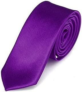 CR/ÉME OM3/® K-22 Cr/émefarbene schmale Krawatte Herren Smoking Slim Uni Tie Hochzeit Business Schlips d/ünn Handmade