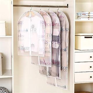 Haute qualité Housses for vêtements Set Sac robes de imperrespirant Couverture de 10 antipoussière Veste sac de rangement ...