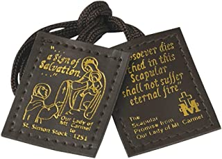 Durable Leather Scapular