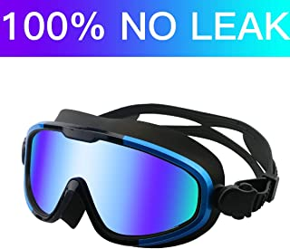 Aquior Swim Goggles, Streamlined Design Glass Leakproof...