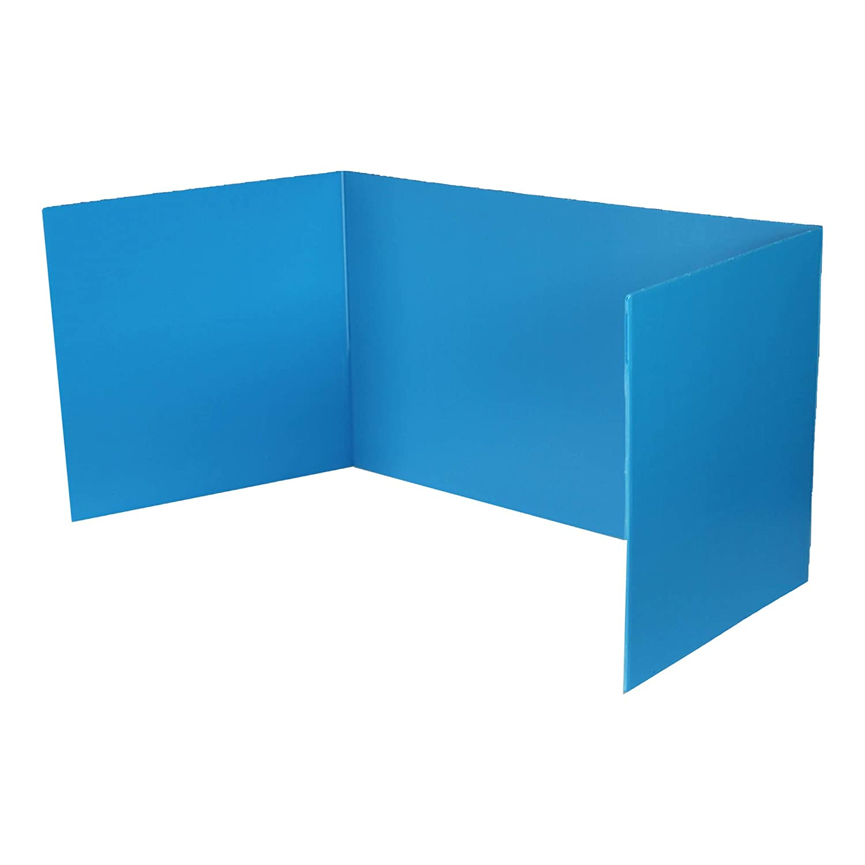 Blue Las Vegas Mall Premium Corrugated Plastic Study Ranking TOP2 of Bulk 12 Carrel Pack