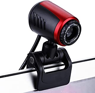 PC Camera, 1080P Full HD PC Skype Camera, Web Cam with Microphone, Video Calling and Recording for Computer Laptop Desktop, Plug and Play USB Camera for YouTube, Compatible with Windows