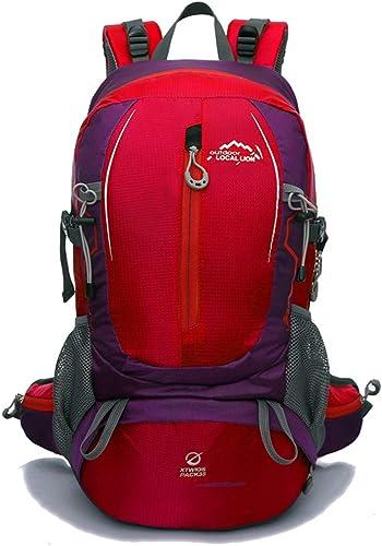 HENDTOR Nylon Imperméable Sports de Plein Air Unisexe Alpinisme Escalade Trekking Camping Randonnée Sacs 40L