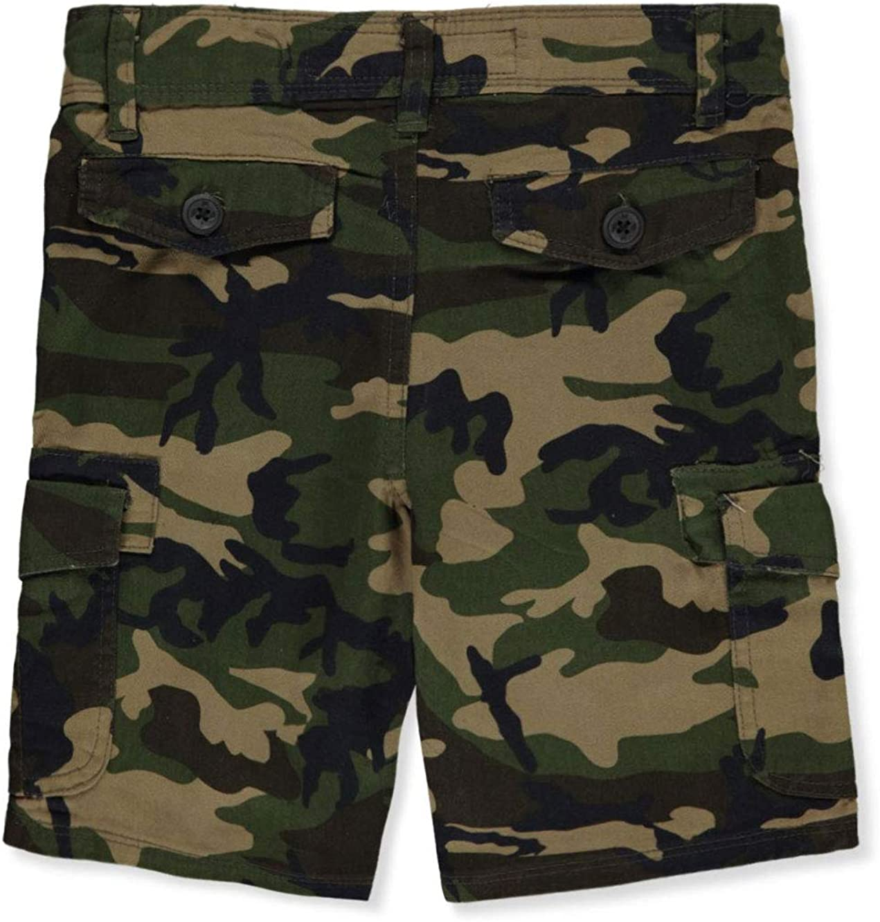 Hawk Little Boys' Toddler Camo Cargo Shorts - camo, 3t
