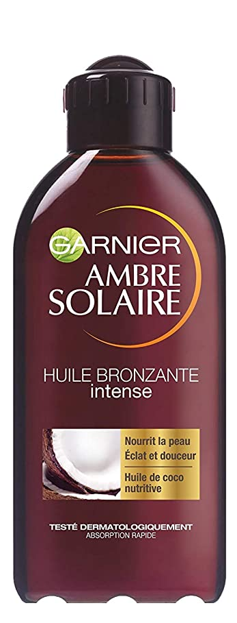 汚物怪しい恐怖Ambre Solaire Huile bronzante Traditionnelle 200ml- (for multi-item order extra postage cost will be reimbursed)