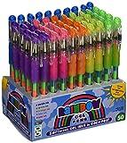 Geddes Rainbow Gel Pens Assortment - Set of 50