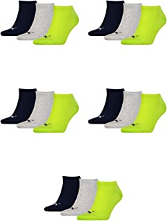 Puma 251025 Unisex Invisible Sports Socks Pack of 3