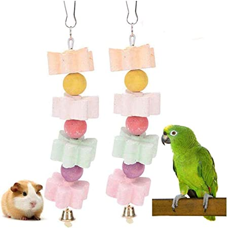 Cheese 10Pcs CZ-ING Pet Grinding Teeth Stone Multi Function Calcium Molar Grinding Stone Pet Supplies Chew Toy for Parrot Hamster