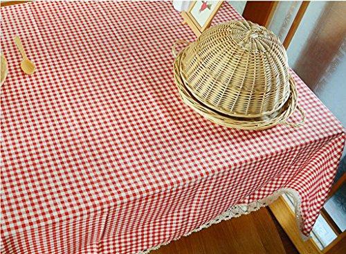 Lozse Linnen tafelkleden Linnen tafelkleden 60 * 60cm 100 * 140cm 2#