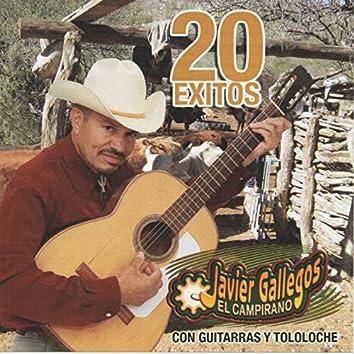 20 Exitos Con Guitarra y Tololoche