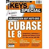 Cubase LE 8 Vollversion Keys Special 2/2015 -