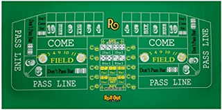 Roll Out Gaming No-Slip Rubber Foam Casino Table Top Layout