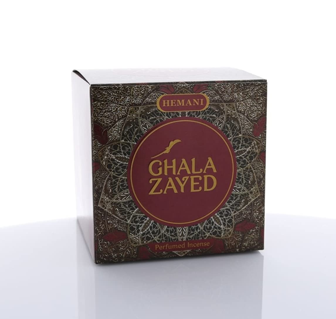 器官コーンウォールスイングHemani Bakhoor Ghala Zayed ( Perfumed Incense ) 90?Gus Seller F / S