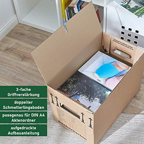 30 Stück Bücherkartons Profi Stabil - 9