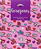 Corazones. Libros Para Colorear (Relax Art)