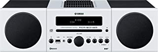 Yamaha Micro Hi-Fi System with Bluetooth and Wireless Playback - MCRB043DWHI (White)