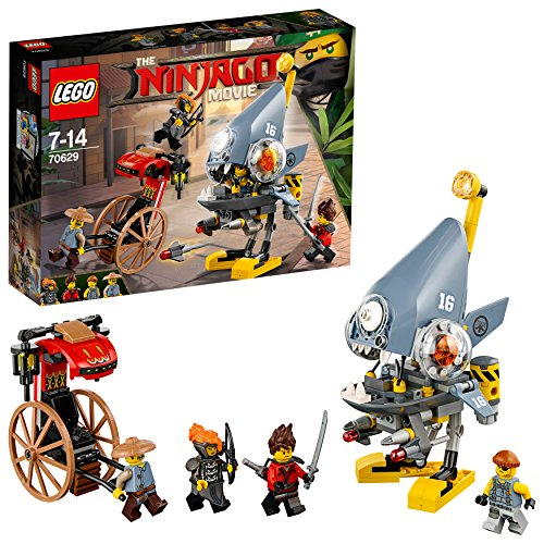 THE LEGO NINJAGO MOVIE Piranha-Angriff 70629 Unterhaltungsspielzeug