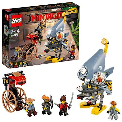 LEGO The Ninjago Movie 70629 - Piranha-Angriff, Unterhaltungsspielzeug