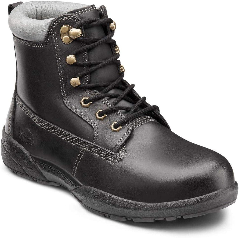Dr. Comfort Men's Predector Steel Toe Diabetic Boots
