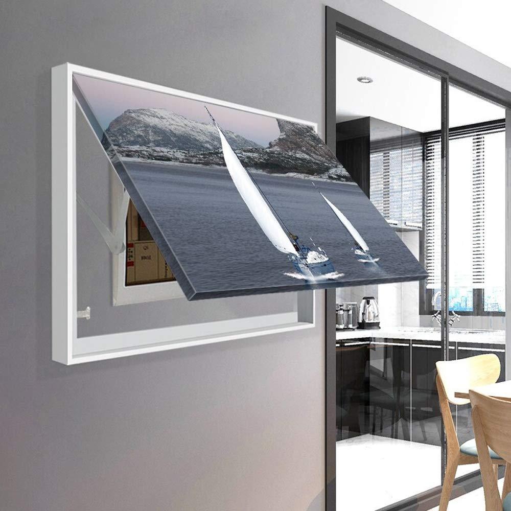 Pinturas de arte de pared para medidor eléctrico Medidor de fusibles Caja Puerta de reemplazo de arte decorativo Pintura Decoración Murales for Sala Dormitorio (Color : Blanco , tamaño : 90x70cm) : Amazon.es: Hogar