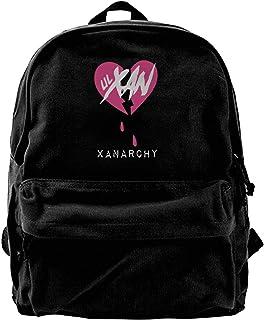 Mochila de lona Lil Xan Xanarchy Mochila para gimnasio, senderismo, portátil, bolsa de hombro para hombres y mujeres