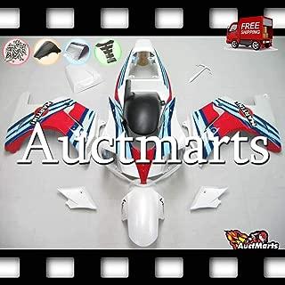 Auctmarts Fairing Kit ABS Plastics Bodywork with FREE Bolt Kit for Suzuki SV650 SV 650 SV1000 SV 1000 2003 2004 2005 2006 2007 2008 2009 2010 2011 White Blue Red (P/N:2s2)