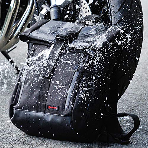 デイトナヘンリービギンズバイク用バックパック防水タイプ16Lファスナー&折り曲げ式防水気室内部小分けポケット外部メッシュポケットDH-73998669