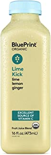 BluePrint Vegetable Juice, Yellow 2 Ginger Lime, 16 oz