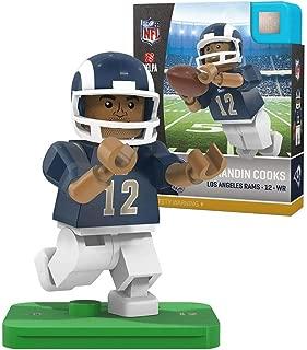 OYO Sports NFL Los Angeles Rams Sports Fan Bobble Head Toy Figures, Blue/Yellow, One Size
