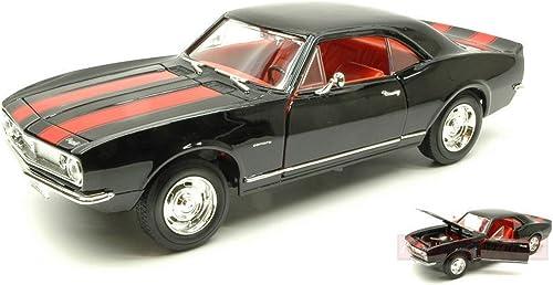 nueva gama alta exclusiva LUCKY LUCKY LUCKY DIE CAST LDC92188BK CHEVROLET CAMARO Z 28 1967 negro 1 18 DIE CAST MODEL  el mejor servicio post-venta