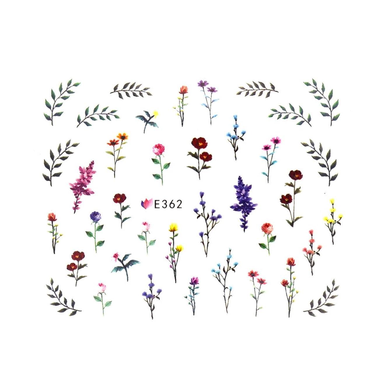 有害彼らは量フラワーガーデンシール 【E362】フラワー ボタニカル ドライフラワー 小花柄