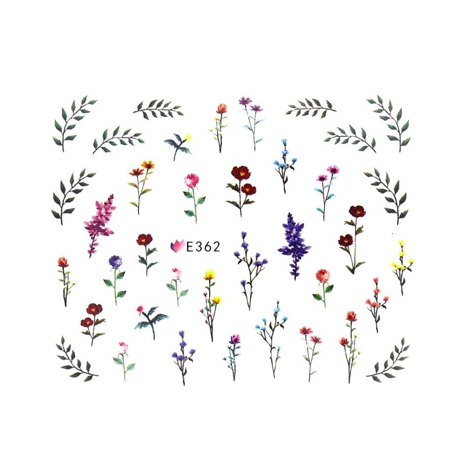 爆発物学ぶ修復フラワーガーデンシール 【E362】フラワー ボタニカル ドライフラワー 小花柄